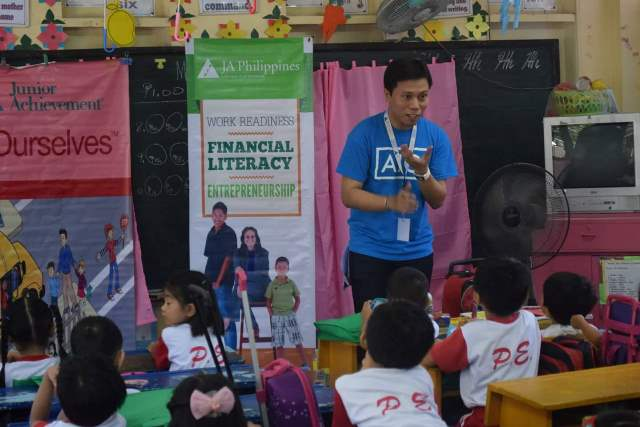 AIG Conducts its First Junior Achievement Program to Local First Graders