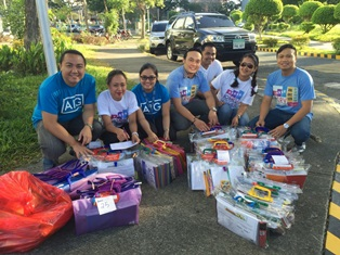 icSRV Launches First School Supplies Donation Drive for Brigada Eskwela 2015