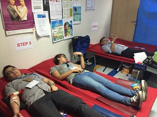 One AIG Blood Donation Drive 2016