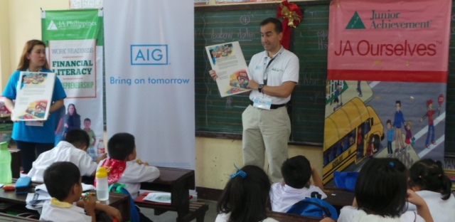 AIG Continues to Further First Graders' Financial Education