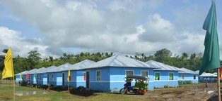 AIG and Habitat for Humanity Philippines Build 63 Houses for typhoon Yolanda Survivors
