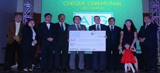 AIG Helps to Fund Junior Achievement's Program