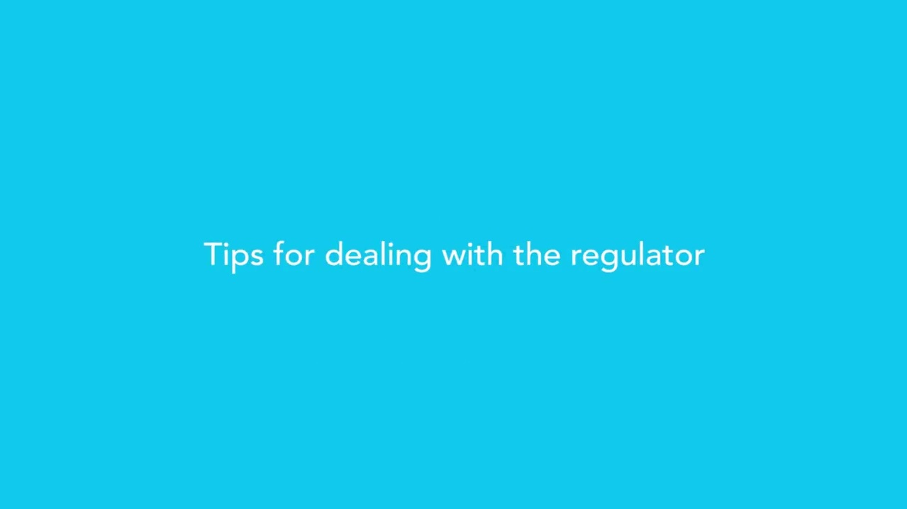 Tips for Dealing With the Regulator